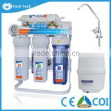 Household water filtration purifier 6 or 7 stage RO system with metal stand and gauge