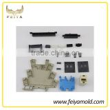 plastic injection moulding custom and manufacture connector or card solt for mobilephone
