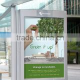 Eco-friendly outdoor bus shelter posters printing