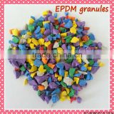 Hot sale EPDM Black Granules, Colored EPDM crumb rubber, EPDM granules for outdoor playground-FN-A-16081702