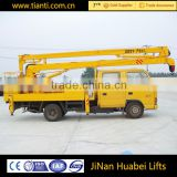 Cheap Crane Machines Small Mobile 2 Ton Truck-Mounted Crane for sale