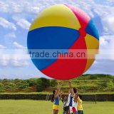 colorful inflatable outdoor soccer ball