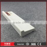 "1-5/8"" X 12' White Cellular PVC Vinyl Drip Cap Decorative Moulding Profiles Siding Starter Strips for Home Decoration"