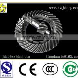LIUGONG loader parts gear construction machinery wheel loader 300F bevel gear manufacturer axle spiral bevel