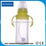 cheap bottle with handle food grade silicone milk bottle chemical resistance Baby Bottle