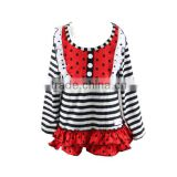 2016 fall blouse designs for kids kids fall ruffle t shirt childrens boutique clothing t shirt