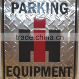 custom metal parking signs factory price
