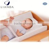 Cover removable and machine washable portable baby changing table, baby changing station, portable changing mat