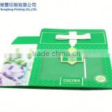 Fine custom sun screen lotion packaging box