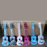 21 23 24 inch China cheap cartoon ukulele ukelele for sale