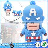 Popular Cartoon Super Heroes Series Usb Flash Drive Custom Pendrive,Wholesale Full Capacity Minions Memory Stick