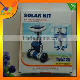 2014Solar toys DIY 6 in 1 new(the third generation), Educational assembly Solar power Kit, solar Toy.