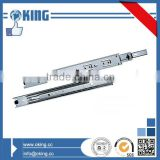 45mm three fold ball bearing drawer channel