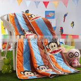 China wholesale colorful kids cartoon quilt, custom printed quils,quilted bedspread