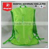 Green Bicycle Bag Hydration Back Pack With Water Bladder