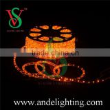 China factory high quality super bright PVC full cooper wire LED rope light for building