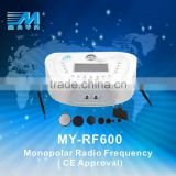 My-RF600 Beauty Salon monopolar rf machine/ wrinkle reduction radio frequency facial machine