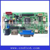 HDMI VGA USB 2*AV Universal Car LCD Display Monitor Mother Control Driver main AV Board with Jumper Cap (Hat)