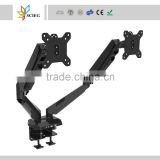 gas spring arm dual monitor mount monitor mount lcd monitor mount