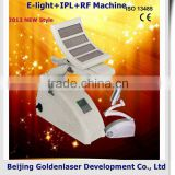 2013 Exporter E-light+IPL+RF machine elite epilation machine weight loss custom clearence guarantee