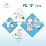Magnetic field therapy body fat loss slimming device mutipolar rf skin lifting equipment PEMF WAVE