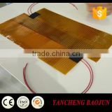 12v Polyimide film mirror heater and kapton heating element