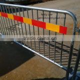 2220x1100mm construction Modular Portable barricade 360 degr welded steel with 3M reflective tape