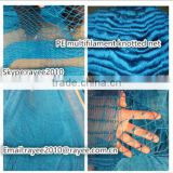 PE braided rope fishing net/trawl net/fishing trawlers for sale/twine fishing net
