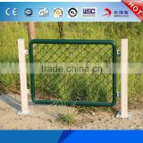 Factory Best Price 9 gauge 5 foot 6 foot 60*60 mm mesh Square Post Galvanized Green PVC Coating Colored Chain Link Fence Cage