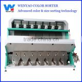 7 chutes 448 channels pumpkin kernels CCD color sorter/ sorting machine for pumpkin kernels