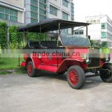 Guangzhou unique 5KW battery operated sightseeing car electric classic car