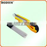 F2035 Big Size Plastic sliding buckle knife/DIY cutter knife/paper cutter knife/exchengeable knife