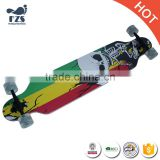 HSJ258 Competition double long <b>board</b> skate<b>board</b> <b>wholesale</b> Road Skate <b>Board</b>