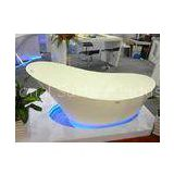Free Standing Pure Acrylic Composite Stone Resin Bath Tub Solid Surface Bathtub