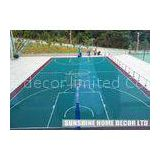 Practical Outdoor Sports Tiles With Modular Sports Surface For Badminton Courts