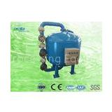 8 Inch 100 Ton/hr Backwashing Bypass Sand Filter In High Flow Rate Sewage Water Treatment
