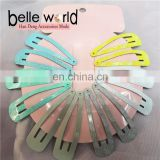 Wholesale 12 pcs PackPrint Snap Hair Clips