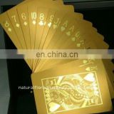 Metal Gold Foil Playing Cards