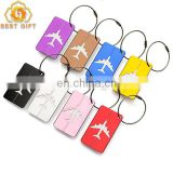 Favors Custom Aluminum Airplane Luggage Tag With Metal Wire