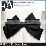 wholesale Sweet Women Bowknot Bow Wide Stretch Buckle Waist Belt BT0631