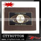 CTY 051 brown color handbag name plate