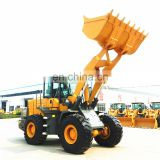 5ton 4-wheel drive hydraulic front end Chinese used wheel loader ZL-50 Fprice with CE for sale