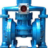 Vertical electric diaphragm pump