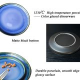 10 Inch Unglazed Ceramic Plate Customized Porcelain Dinnerware Plate