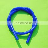 Factory Supply 12mm Food grade non-toxic silicone hose Blue silicone tube Colorful silicone hose