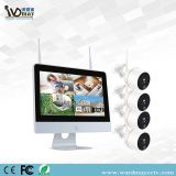4CH 2.0MP CCTV Wireles Home Security WiFi NVR Alarm System Kits with 12 Inch Touch Screen