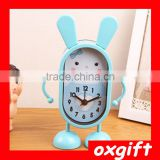 OXGIFT Cheap Cartoon Mini Candy Colors metal Alarm Clock for sale