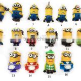 Hot selling PVC Despicable Me usb stick 8GB,3D cartoon usb pendrive Despicable Me