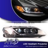 AKD Car Styling for Mazda 6 LED Headlights B-Type 2004-2013 Mazda6 LED Head Lamp Projector Bi Xenon Hid H7