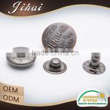 China Supplier Sterling Silver Suit Black Coat Buttons